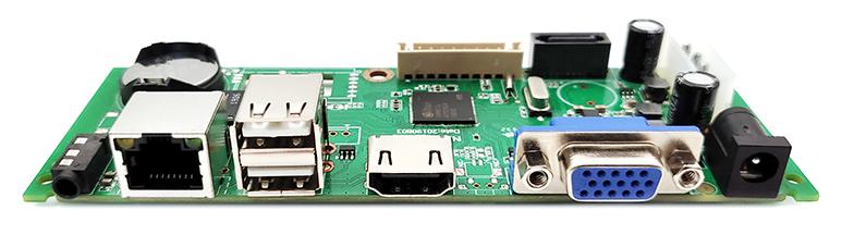 捷高ANVR-1015(10路一盤位500W)NVR主板