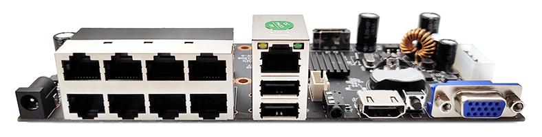 捷高APNVR-818(8路800W) POE NVR主板